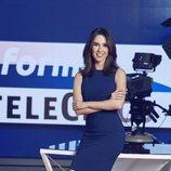 Alba Lago, presentadora de la edición matinal de 'Informativos Telecinco'