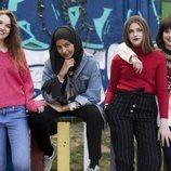 El grupo de amigas protagonistas de 'Skam España'