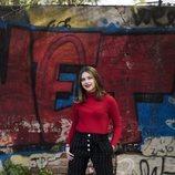 Nicole Wallace posa en esta foto promocional de 'Skam España'