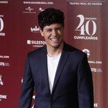 Alfred García en el concierto del 40º cumpleaños de David Bisbal