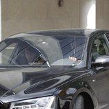Shakira llega en coche al juzgado de Esplugues de Llobregat