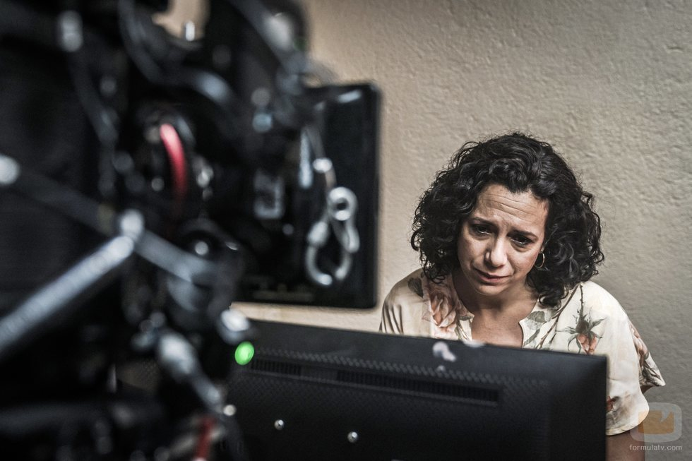 Laura de la Uz interpreta a Cristina en 'En el corredor de la muerte'