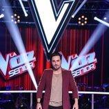 David Bustamante en una imagen promocional de 'La Voz Senior'