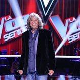 José Mercé en una imagen promocional de 'La Voz Senior'