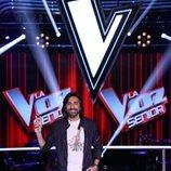 Antonio Carmona en una imagen promocional de 'La Voz Senior'
