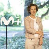 La escritora Julia Navarro posando en la presentación de la serie 'Dime quién soy'