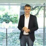Domingo Corral, director de ficción de Movistar+, en la presentación de 'Dime quién soy'