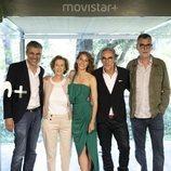 El equipo de 'Dime quién soy' en la presentación de la serie de Movistar+