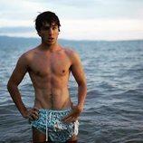 Óscar Casas en bañador