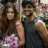 Eliza y Jonathan en la telenovela  'Totalmente Diva'
