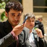 David Solans como Bruno en el rodaje de 'Merlí: Sapere Aude'
