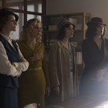 Sara, Ángeles, Marga y Lidia en la cuarta temporada de 'Las chicas del cable'