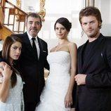 Los cuatro protagonistas de 'Amor prohibido', la serie turca más vista