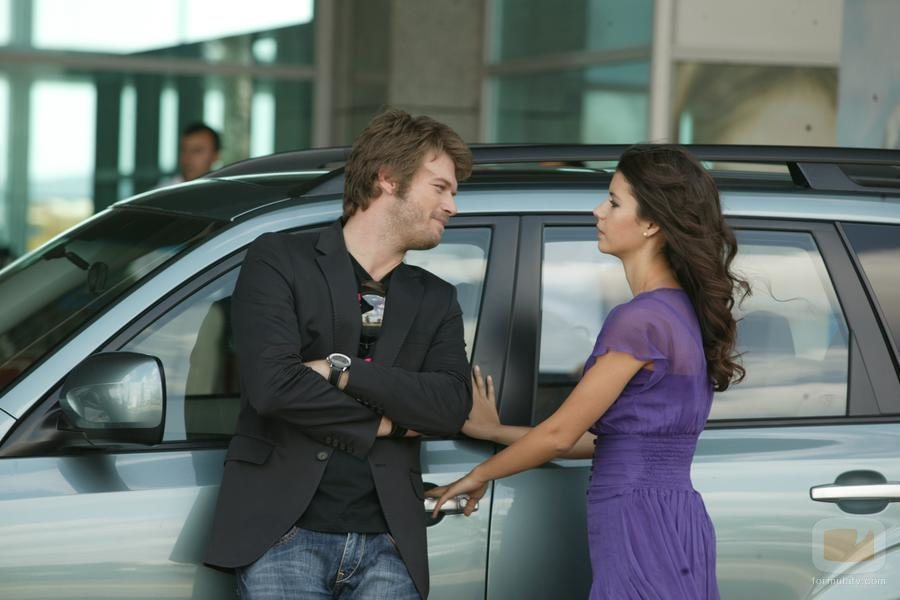La pareja protagonista de 'Amor prohibido'