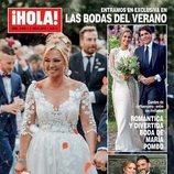 La portada de ¡Hola! dedicada a la boda de Belén Esteban