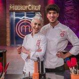 Teresa y Aleix, finalistas de la séptima edición de 'MasterChef'