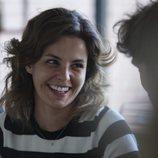 Marta Torné, sonriente en la lectura de guión de 'Velvet: una navidad para recordar'