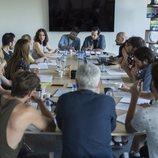 La mesa de la lectura de guion de 'Velvet: una navidad para recordar'