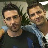Maxi Iglesias  y Miguel Ángel Silvestre, juntos en la lectura de guion del final de 'Velvet colección'