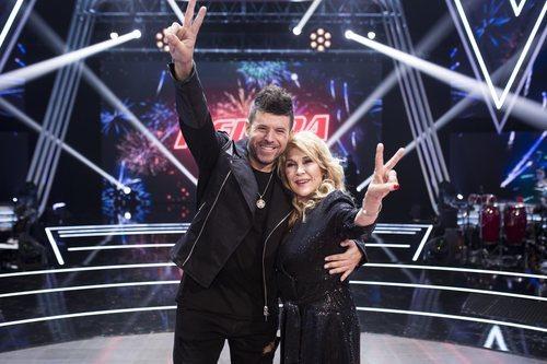 Helena Bianco y Pablo López en la final de 'La Voz Senior'
