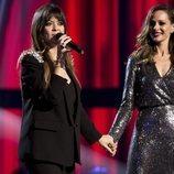 Vanesa Martín y Eva González en la final de 'La Voz Senior'