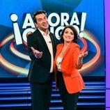 Arturo Valls y Silvia Abril, presentadores de '¡Ahora caigo!'