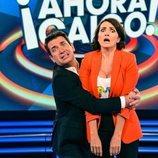 Arturo Valls y Silvia Abril, en '¡Ahora caigo!'