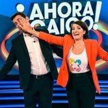 """Silvia Abril """"echa"""" a Arturo Valls de '¡Ahora caigo!'"""