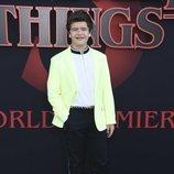 Gaten Matarazzo, en la premiere de la tercera temporada de 'Stranger Things'