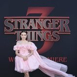 Millie Bobby Brown, en la premiere de la tercera temporada de 'Stranger Things'