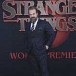 David Harbour, en la premiere de la tercera temporada de 'Stranger Things'