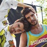 Los bailarines Ángel Lara y Ernesto Santos (Eurovisión 2019) posan juntos
