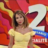 María Patiño posando para el segundo aniversario de 'Socialité'