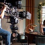 Marta Torné en el rodaje del episodio final de 'Velvet colección'