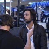 Hugo Silva interpreta a Julián en el rodaje de 'Nasdrovia'
