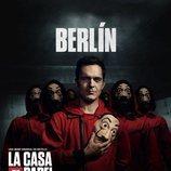 Berlín, en un póster promocional de la tercera parte de 'La Casa de Papel'
