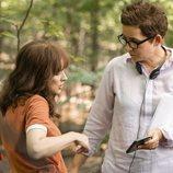 Winona Ryder y Uta Briesewitz en el rodaje de la tercera temporada de 'Stranger Things'
