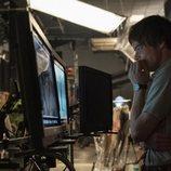 Charlie Heaton en el rodaje de la tercera temporada de 'Stranger Things'