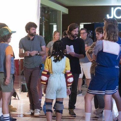 El rodaje de la tercera temporada de 'Stranger Things', en imágenes