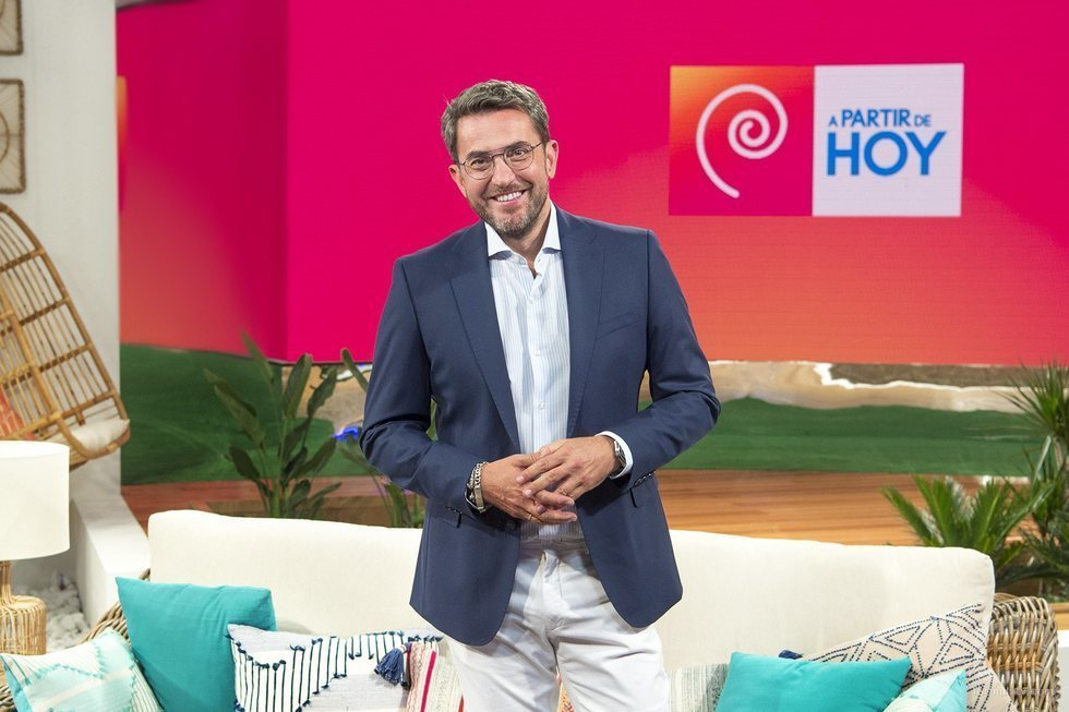 Máximo Huerta, presentador de 'A partir de hoy' de La 1