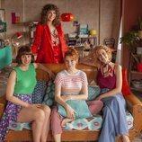 Las chicas que conforman el casting de 'Valeria', la serie de Netflix