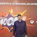 Manu Zapata, uno de los integrantes de Los Lobos de '¡Boom!'