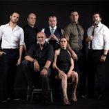 Los miembros de la policía de 'La Casa de Papel'
