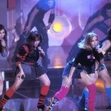 Bellepop, el grupo formado por las ganadoras de 'Popstars', en plena actuación