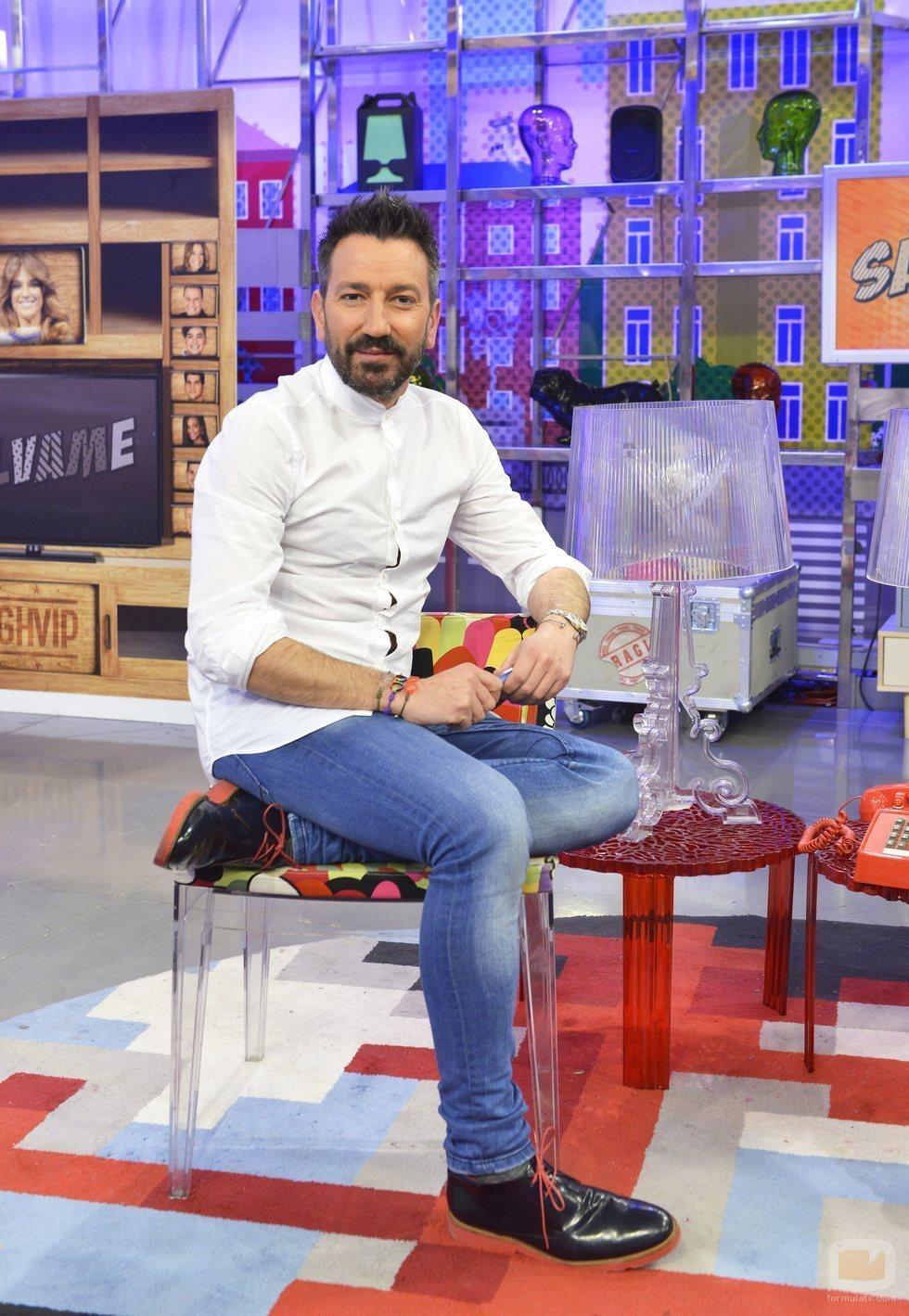 David Valldeperas, presentador de 'Aquí hay madroño' y director de 'Sálvame'