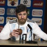 'Hoy no, mañana' imita al futbolista Leo Messi