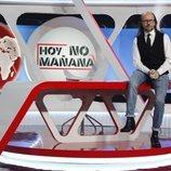 Santiago Segura, presentador de 'Hoy no, mañana'