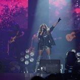 Paulina Rubio, en el concierto de 'La Voz'