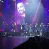 Actuación grupal en el concierto de 'La Voz'