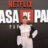 Najwa Nimri en la premiere de la Parte 3 de 'La Casa de Papel'